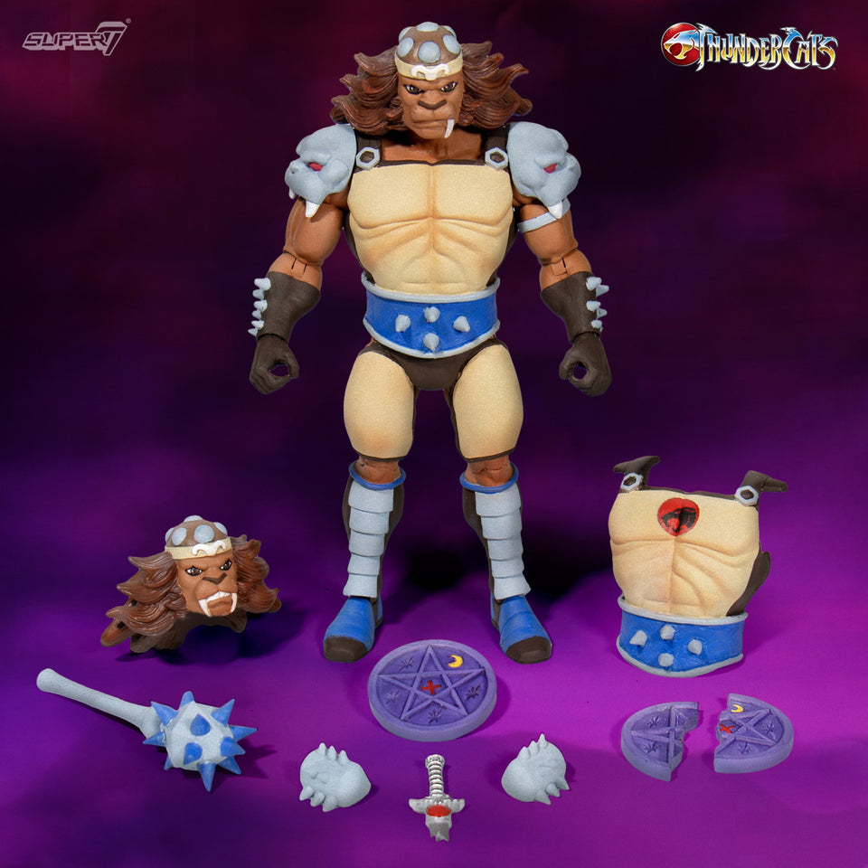 Super7 Thundercats Ultimates Wave 2 Grune 7 Inch Action Figure PRE-ORDER