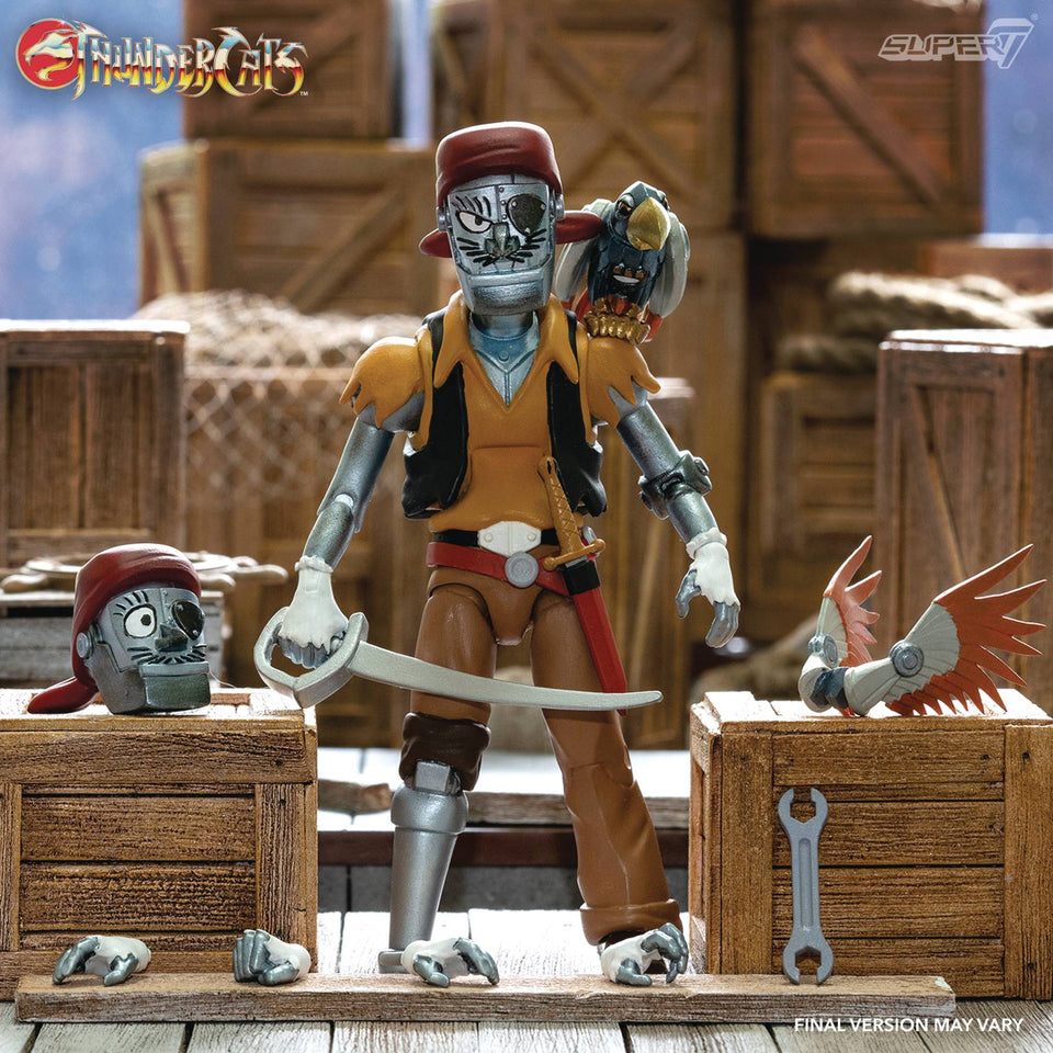 Super7 Thundercats Ultimates Wave 3 Captain Cracker 7 Inch Action Figure PRE-ORDER