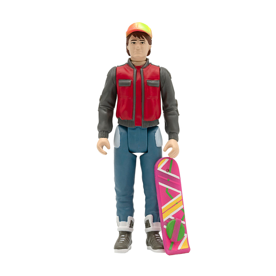 Super7 Back to the Future 2 ReAction Marty McFly  3.75