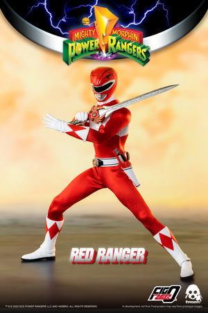 Threezero Mighty Morphin Power Rangers Red Ranger PRE-ORDER