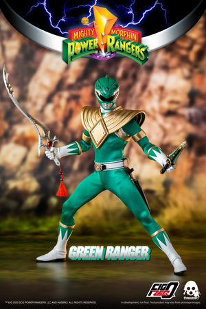 Threezero Mighty Morphin Power Rangers Green Ranger PRE-ORDER