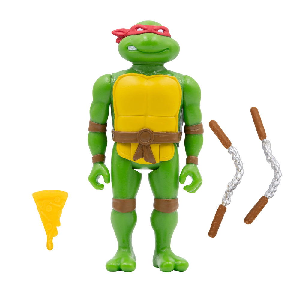 Super7 ReAction Teenage Mutant Ninja Turtles Mirage Variant PX Set of 4 3.75 Inch Action Figures PRE-ORDER