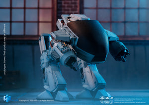 HIYA TOYS Previews Exclusive Robocop ED-209 Battle Damaged 1:18 Scale Figure with Sound PRE-ORDER