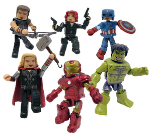 SDCC 2021 Marvel The Avengers Minimates Commemorative Collection Gift Set PRE-ORDER