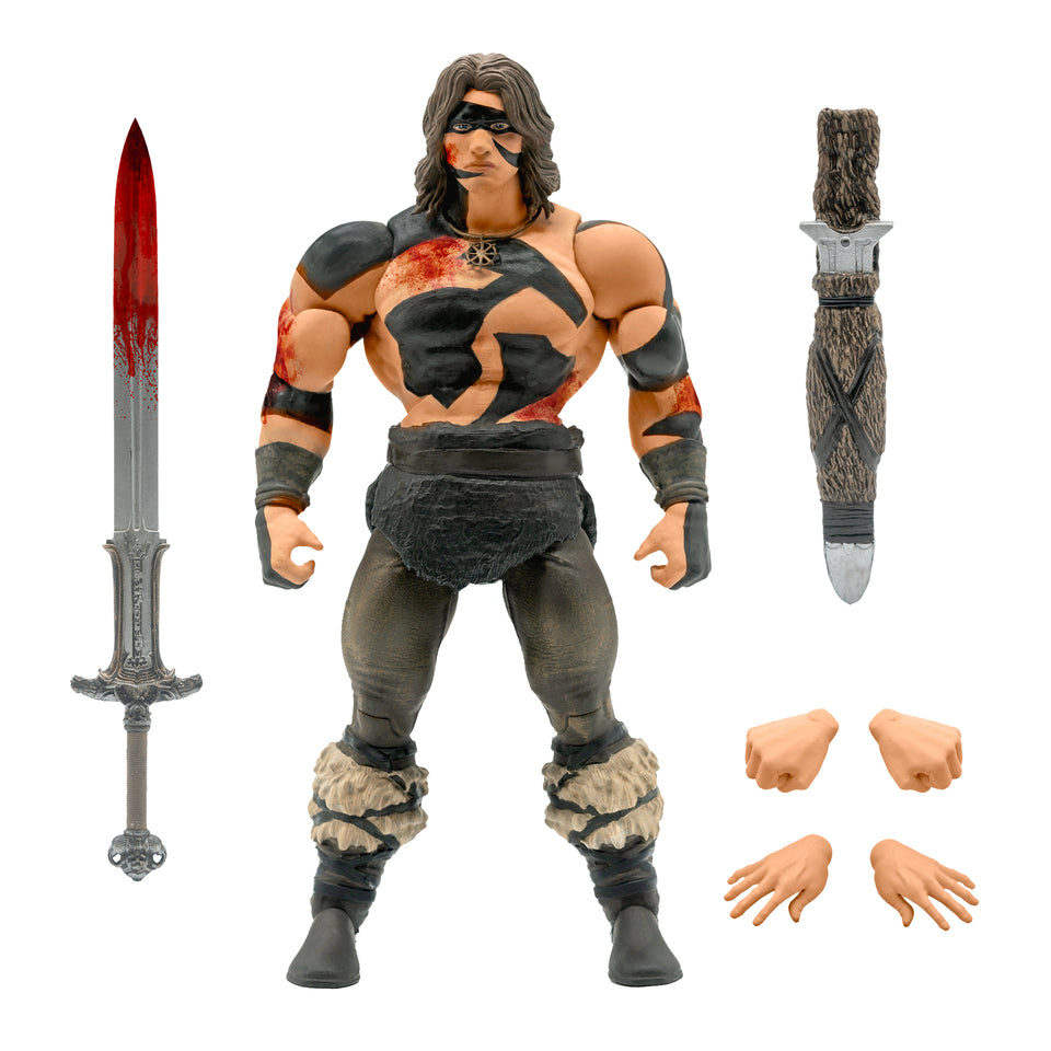 Super7 Ultimates Conan the Barbarian in War Paint 7 Inch Action figure PRE-ORDER