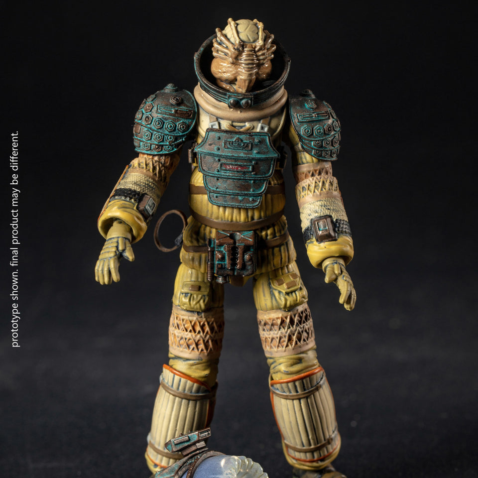 Hiya Toys PX Exclusive Alien Kane 1:18 Scale Action Figure PRE-ORDER