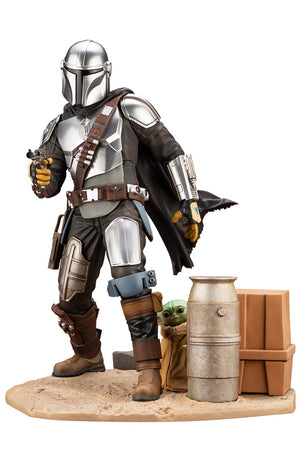 Star Wars The Mandalorian ArtFX+ Mandalorian and the Child FREE-SHIPPING / PRE-ORDER