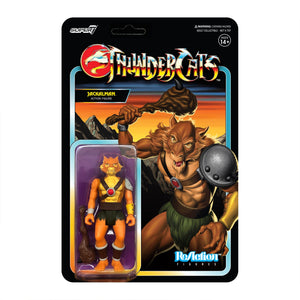 Super7 ReAction Thundercats Wave 1 Jackalman 3.75 Inch Action Figure