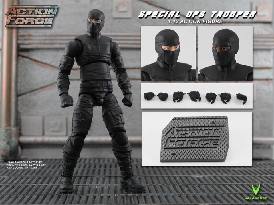 Action Force Special Ops Trooper 6 Inch Action Figure PRE-ORDER