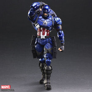 Marvel Universe Variant Bring Arts Captain America Action Figure - FREE SHIPPING