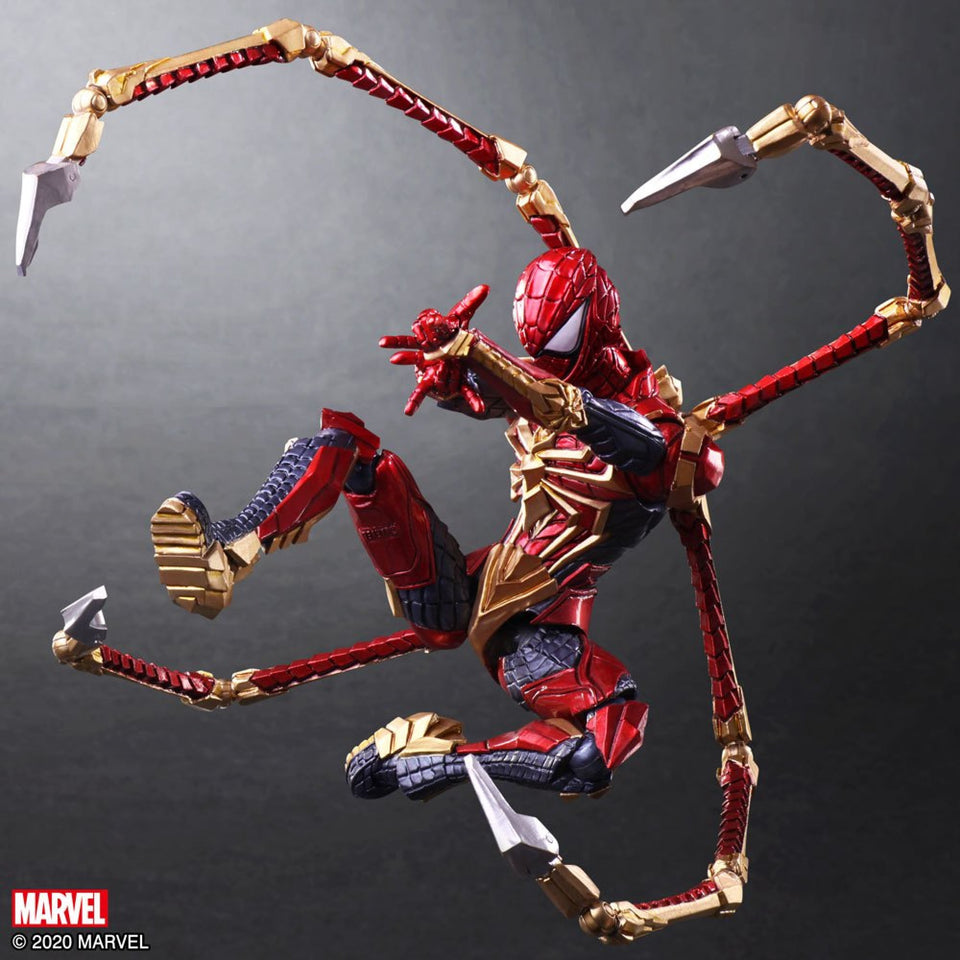 Marvel Universe Variant Bring Arts Iron Spider Spider-Man Action Figure - FREE SHIPPING