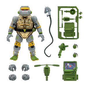 Super7 Ultimate Teenage Mutant Ninja Turtles Wave 3 Metalhead 7 Inch Action Figure PRE-ORDER