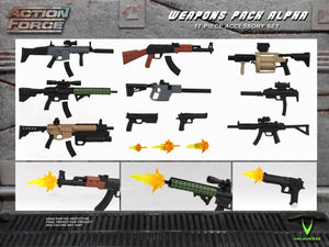 Action Force Weapons Pack Alpha Accessory Pack PRE-ORDER