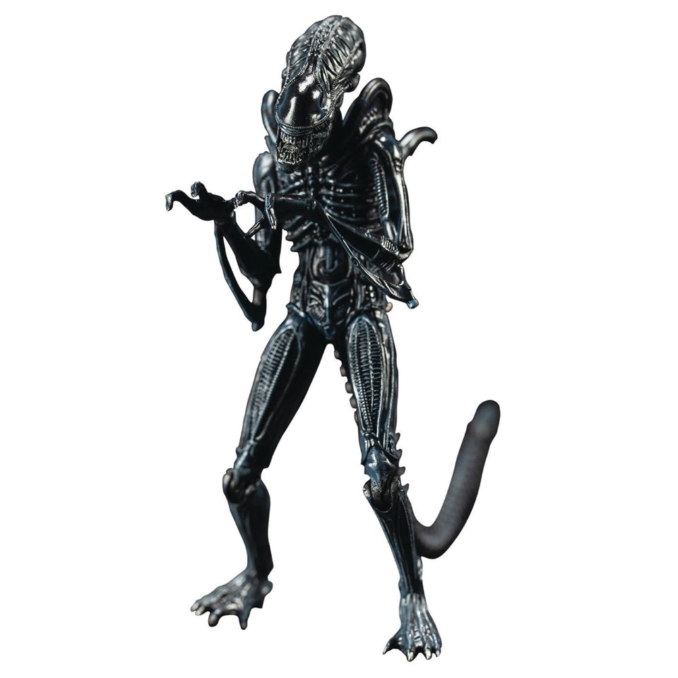 Hiya Toys Previews Exclusive Aliens Blue Alien Warrior 1/18 Scale Figure PRE-ORDER
