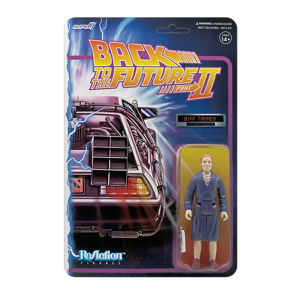 Super7 Back to the Future 2 ReAction Biff Tannen 3.75