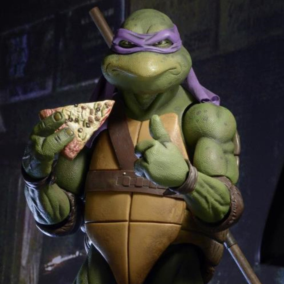 NECA Teenage Mutant Ninja Turtles Donatello 1/4 Scale Action Figure FREE-SHIPPING / PRE-ORDER