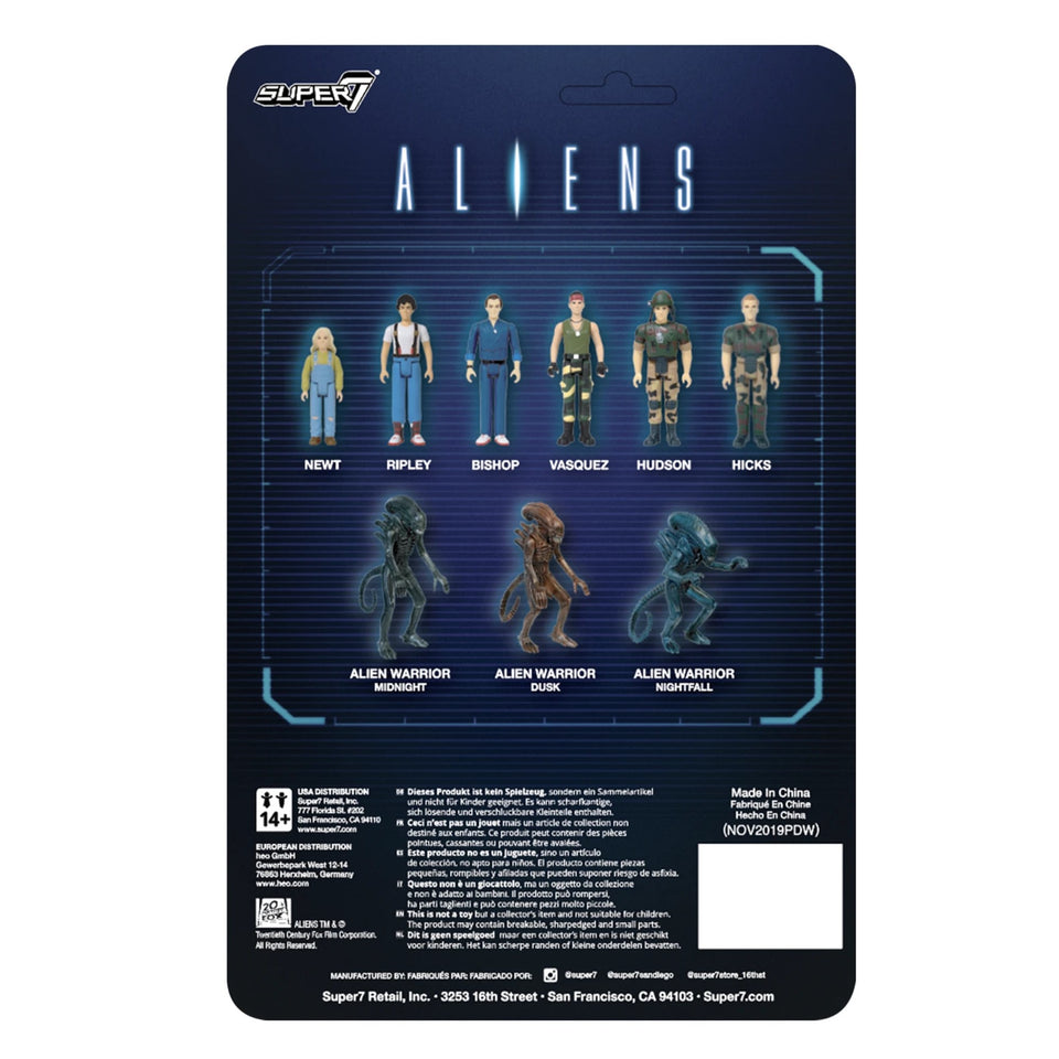 Super7 Aliens ReAction Bishop 3.75 Inch Action Figure