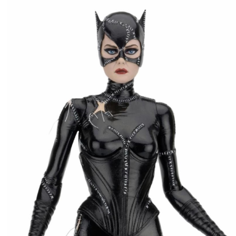 NECA Batman Returns Catwoman Michelle Pfeiffer 1/4th Scale Action Figure FREE SHIPPING / PRE-ORDER