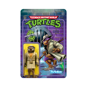 "Super7 ReAction TMNT wave 2 Undercover Donatello 3.75"" Action Figure PRE-ORDER"