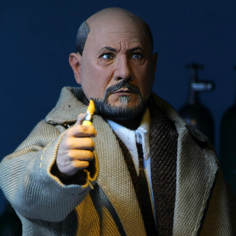NECA Halloween 2 (1981) 8 Inch Clothed Figure Dr Loomis & Laurie Strode 2 Pack PRE-ORDER