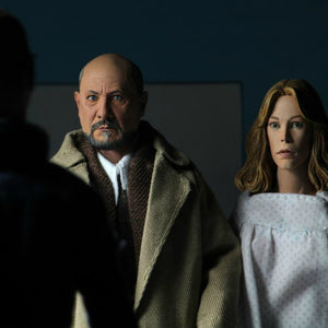 NECA Halloween 2 (1981) 8 Inch Clothed Figure Dr Loomis & Laurie Strode 2-Pack PRE-ORDER