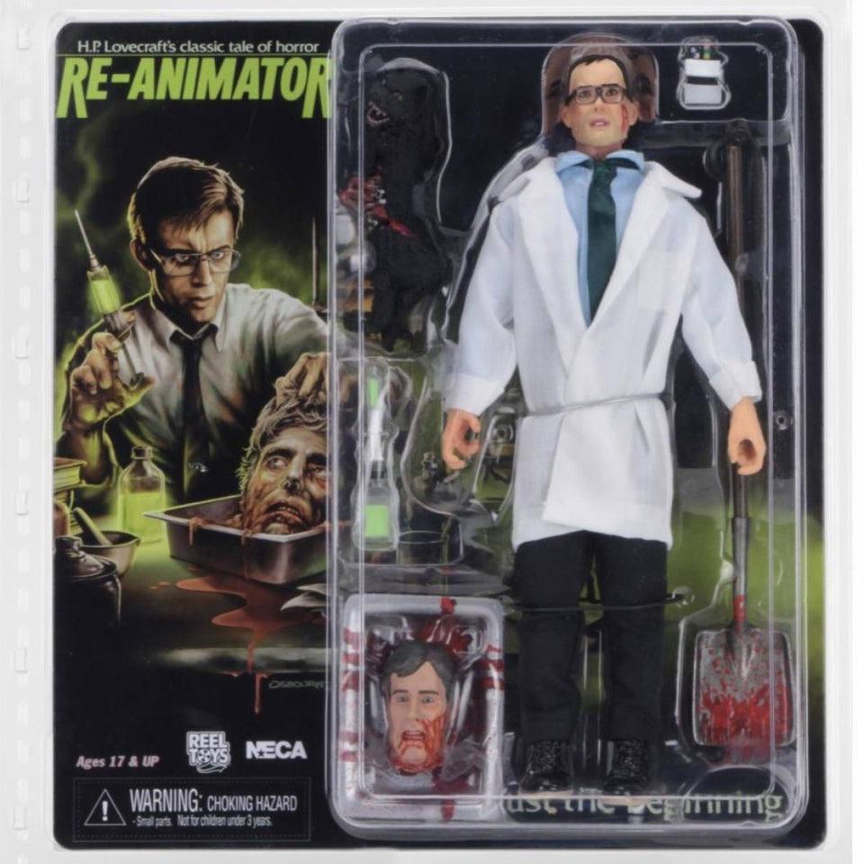NECA Re-Animator Herbert West Action Figure PRE-ORDER