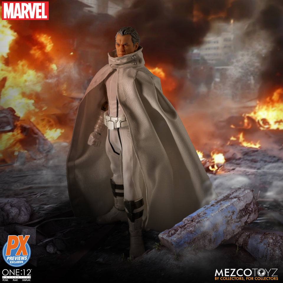 Mezco Toyz One:12 Collective PX Exclusive Marvel NOW Edition Magneto Action Figure FREE SHIPPING
