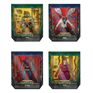 Super7 Ultimates Teenage Mutant Ninja Turtles Wave 1 Version 2 Action Figure 4 Pack FREE SHIPPING / PRE-ORDER