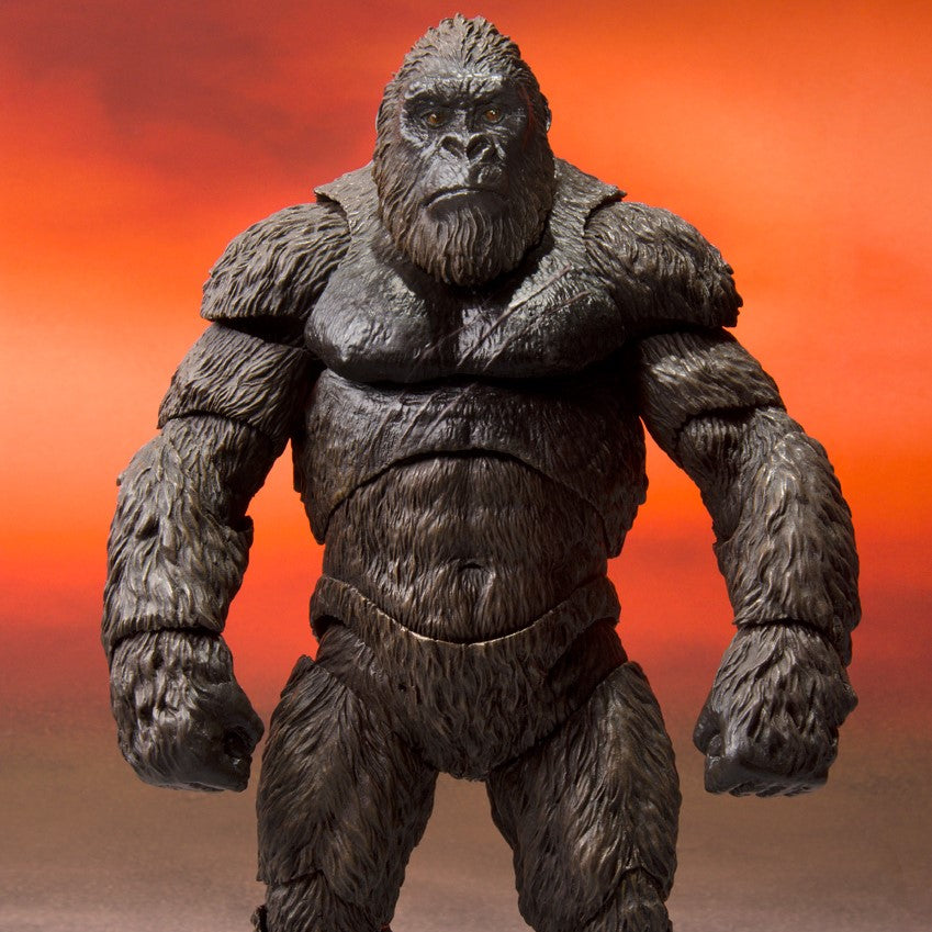 S.H. MonsterArts Godzilla VS Kong - King Kong 6 Inch Action Figure PRE-ORDER