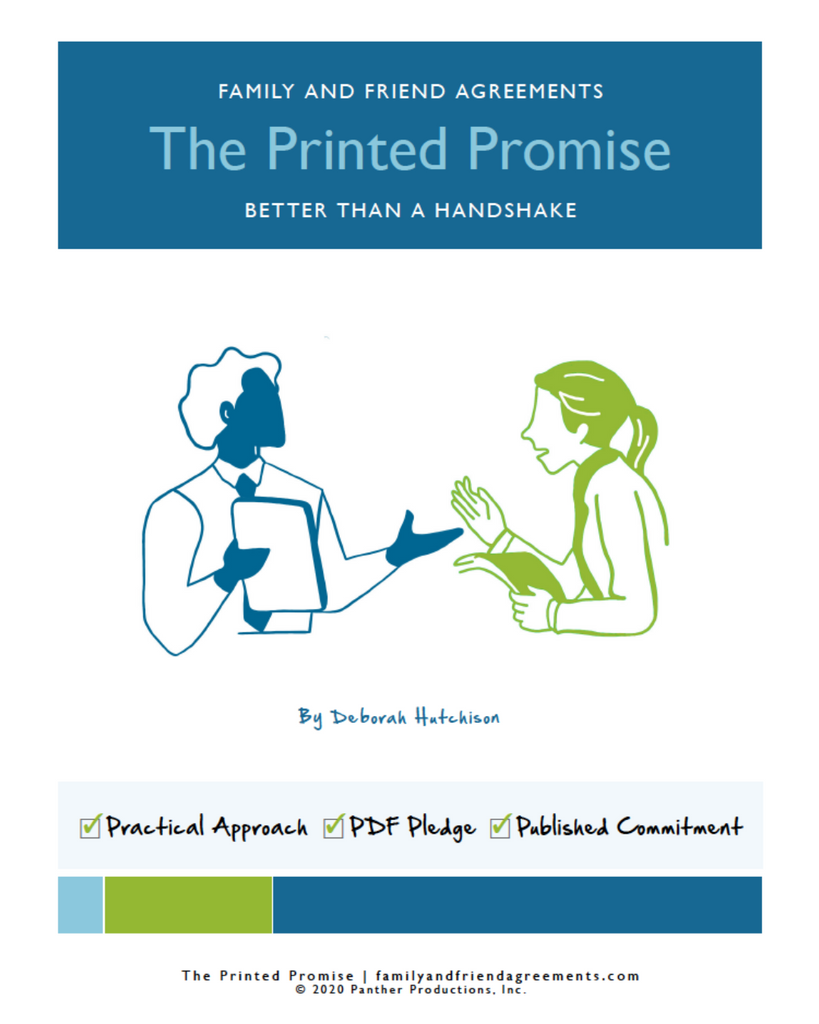 The Printed Promise all agreements cover.