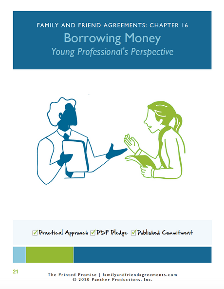 Borrowing Money agreement cover art preview.