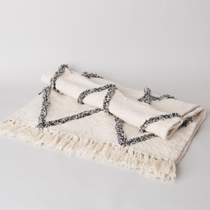 Diamond Fringe Blanket