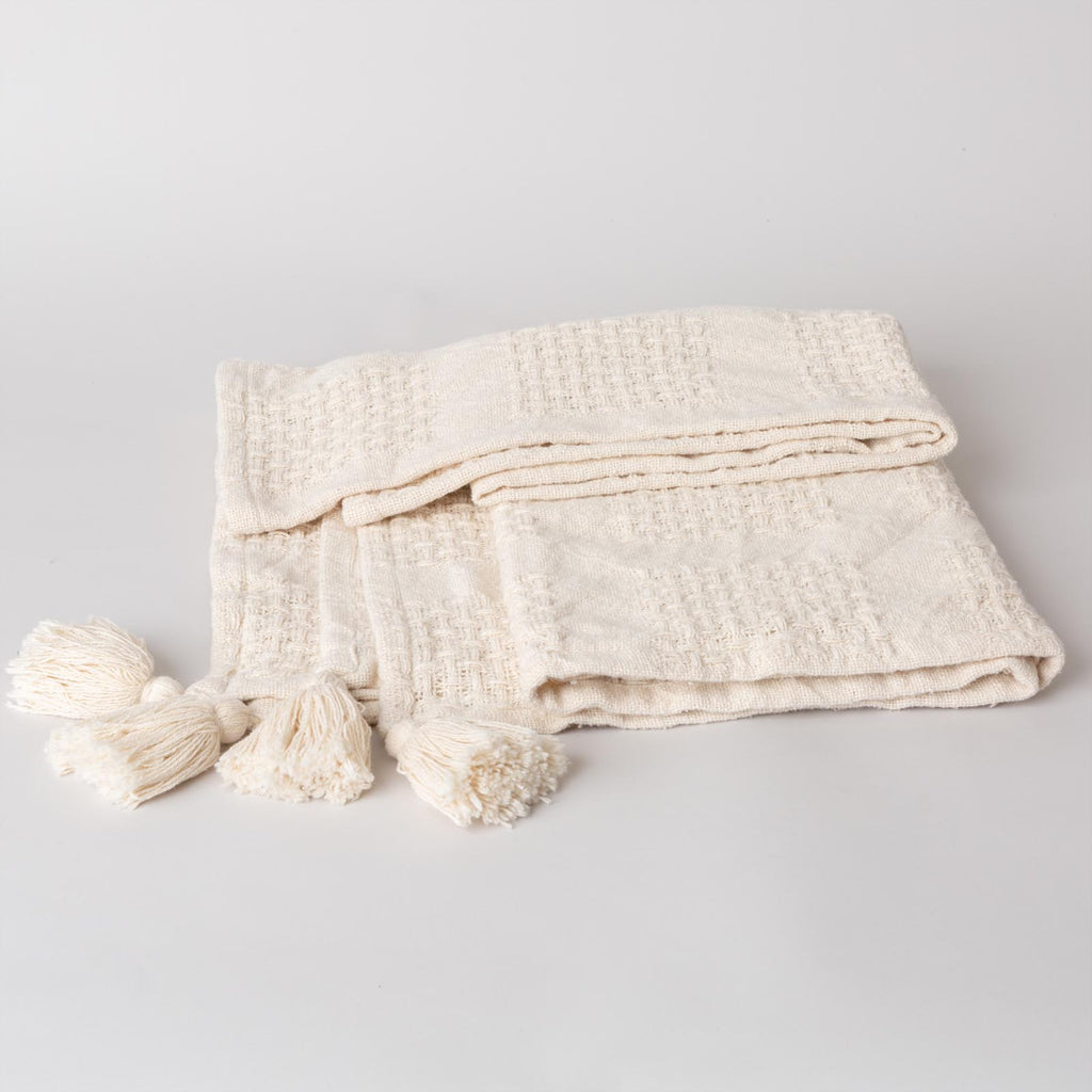 The Simple Tassel Blanket