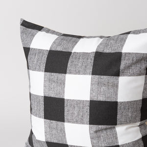 Oversized Gingham Pillow Cover