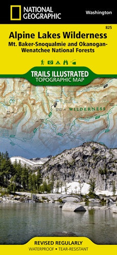 Alpine Lakes Wilderness [Mt. Baker-Snoqualmie and Okanogan-Wenatchee National Forests]