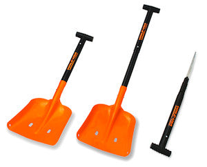 Voile T-Wood Avalanche Shovel, Orange Blade