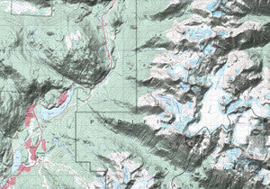Alberta and BC Topo Maps 82 Series