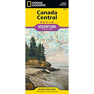 Canada Central Adventure Map