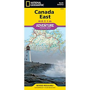 Canada East Adventure Map