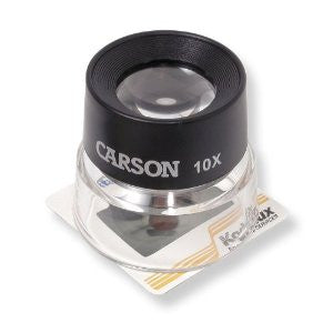 Carson Loupe Stand Magnifier 10X