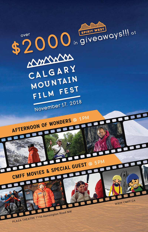 Calgary Mountain Film Festival Free Anniversary Tickets