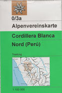 Cordillera Blanca North Map