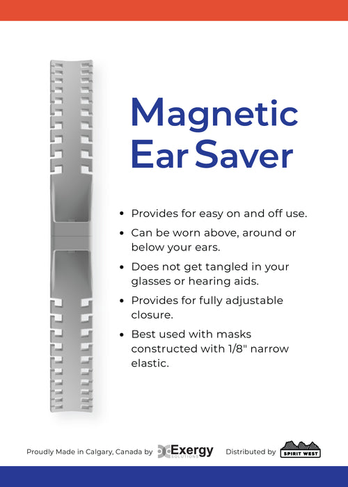 Magnetic Ear Saver Exergy Spirit West Colab Package