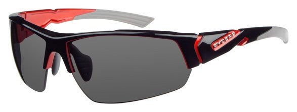 Ryders Strider Gloss Black With Red
