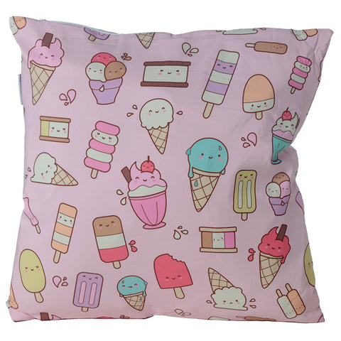 Kawaiice Creams Cushion - Modern Cushion