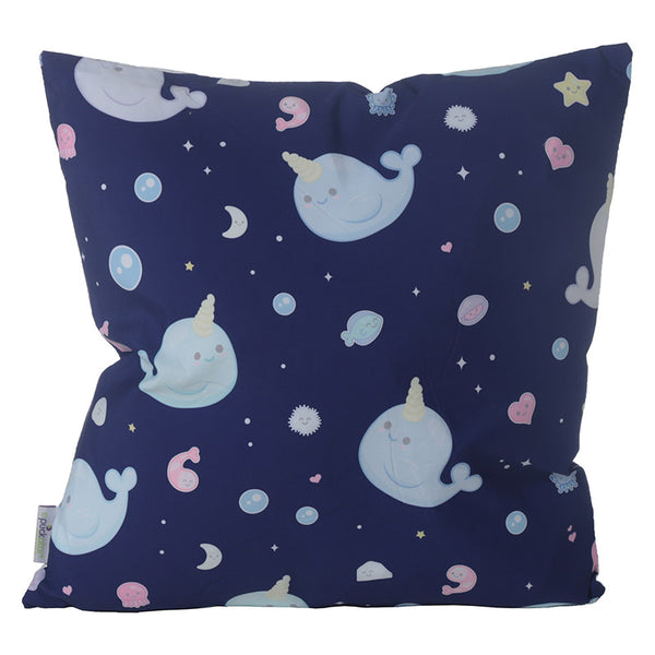 Narwaii & Friends Narwhal Cushion - Modern Cushion