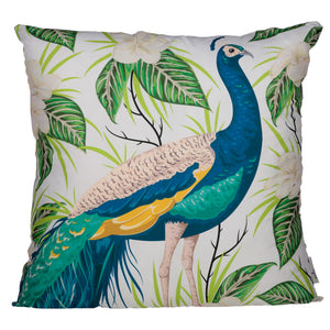 Peacock Cushion Cover - Modern Cushion