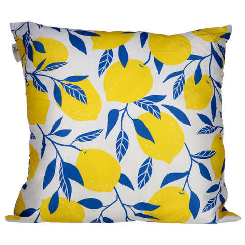 Amalfi Lemon Cushion - Modern Cushion