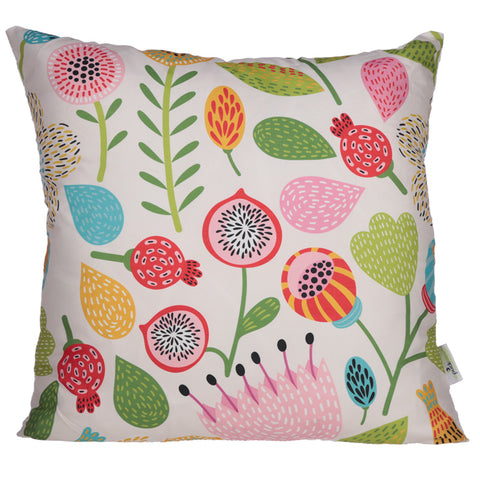 Autumn Falls Floral Cushion - Modern Cushion