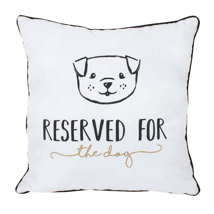 Reserved For The Dog Cushion - Modern Cushion